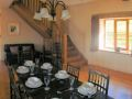Panoramic view of the dining room